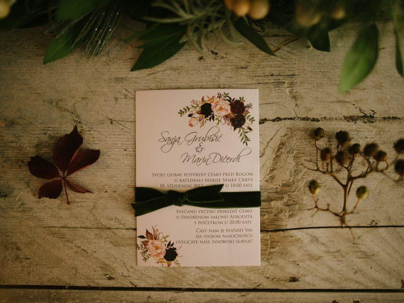 Pozivnica za vjenčanje